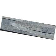 Stone Panels Long Slate Grey 3D 600mm x 150mm